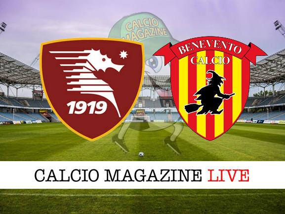 Salernitana – Benevento: cronaca diretta live, risultato in tempo reale