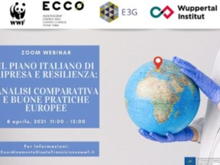 Wwf a Draghi: dichiarare l'identità ambientale del Pnrr e garantire i progetti per clima e biodiversità