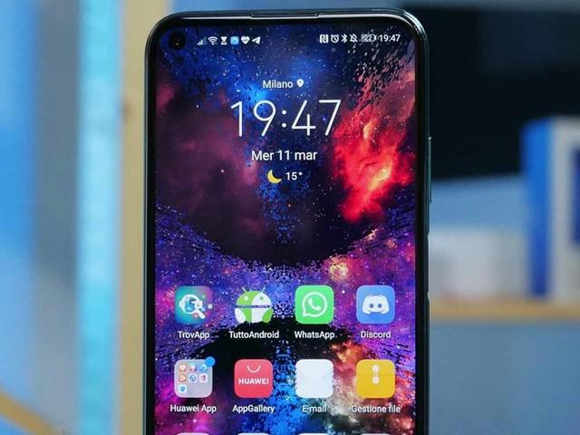 Petal Search su Huawei P40 Lite con l'aggiornamento 236 e non solo