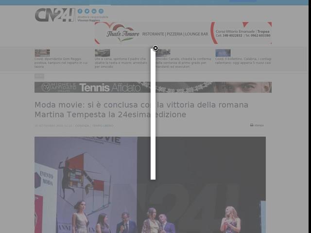 Moda movie: si è conclusa con la vittoria della romana Martina Tempesta la 24esima edizione