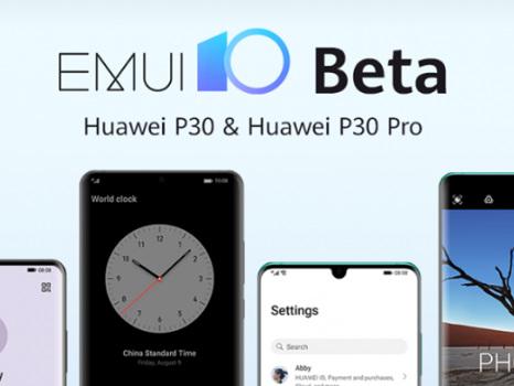 Annuncio ufficiale per la beta EMUI 10 su Huawei P30: download app e procedura richiesta