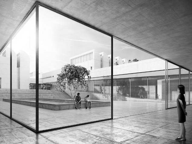 """Il progetto del """"nuovo"""", bellissimo museo del Bauhaus di Berlino"""