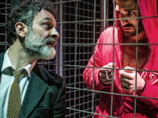 Teatro: Spazio Diamante, TEBAS LAND di Sergio Blanco, produzione di Pupi e Fresedde-Teatro di Rifredi Centro di Produzione Teatrale Firenze