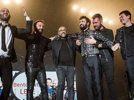 Audio di Cosa c'è dall'altra parte dei Negramaro, il nuovo singolo di Giuliano per Lele, e la scaletta di Amore Che Torni Tour 2019