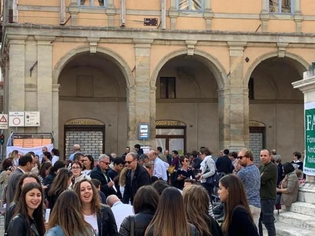 """Record per le """"Giornate del Fai"""" a Camerino: oltre 1300 presenze nella zona rossa"""