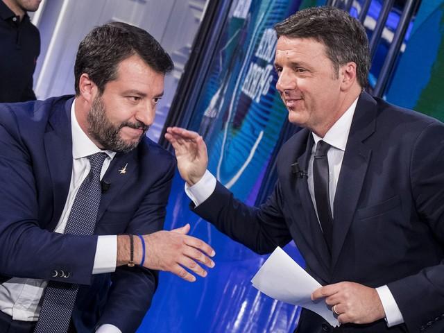 """Renzi accusa Salvini: """"Ha usato lui i milioni della Lega"""""""