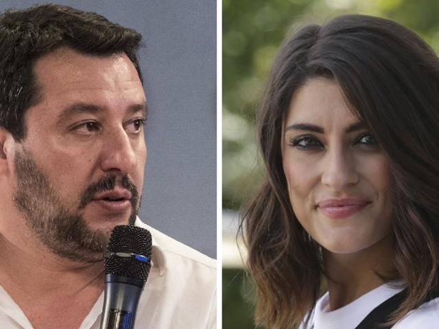 """Matteo Salvini su Facebook: """"Con Elisa Isoardi c'è qualche problema, ma siamo una coppia felice"""""""