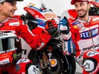 MotoGP: in diretta la presentazione del team Ducati