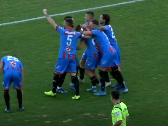 Catania vince di misura contro il Rende, decide una rete di Biondi