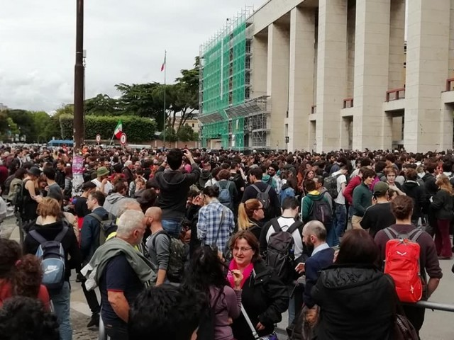 Sapienza 'assediata', gli studenti si mobilitano a difesa di Mimmo Lucano