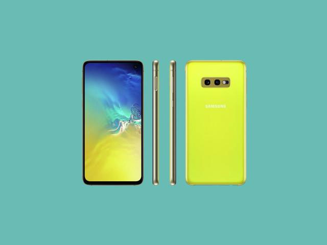 """Samsung Galaxy S10e Canary Yellow è ancora più """"accecante"""" nel nuovo poster"""