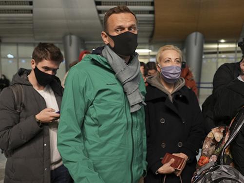 Alexei Navalny è stato arrestato appena atterrato a Mosca