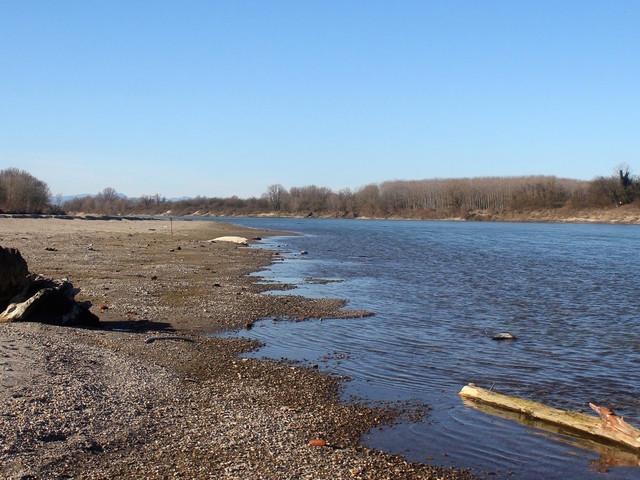 Gennaio e febbraio senza pioggia, preoccupa il livello del fiume Po