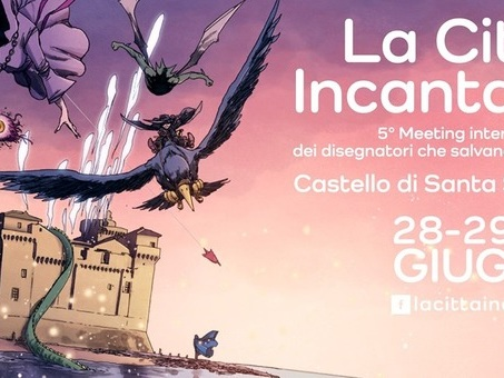 Al Castello di Santa Severa per tre giorni disegnatori e fumettisti che ?salvano il mondo?