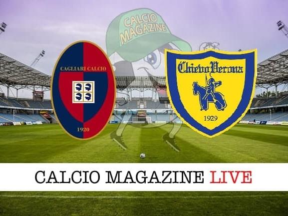 Cagliari – Chievo: cronaca diretta live, risultato in tempo reale