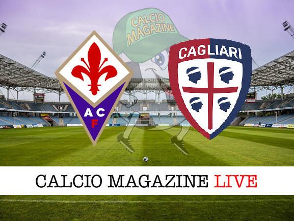 Fiorentina – Cagliari: cronaca diretta live, risultato in tempo reale