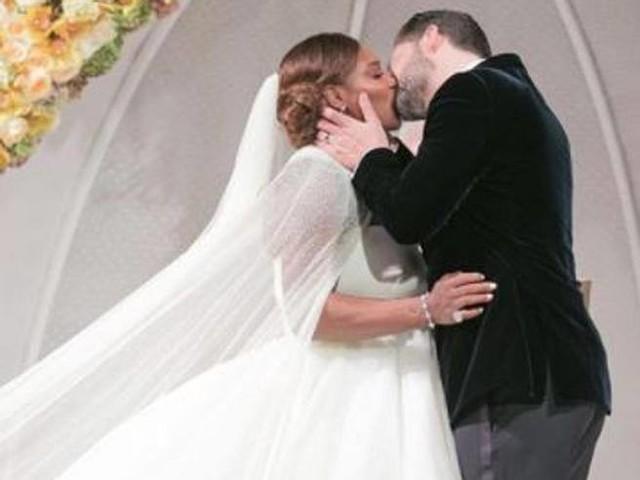Il matrimonio da favola di Serena Williams