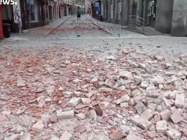 Terremoto Croazia, Bozinovic: 'Stiamo affrontando due crisi, il sisma e l'epidemia'