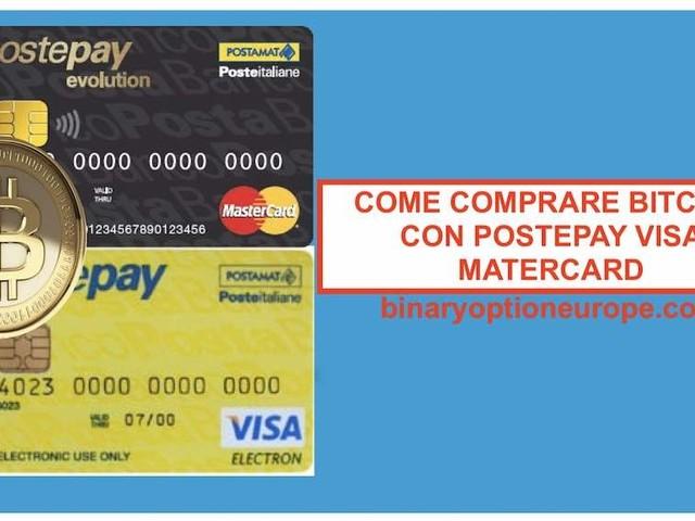 Come comprare Bitcoin Italia carta di credito Postepay [GUIDA]