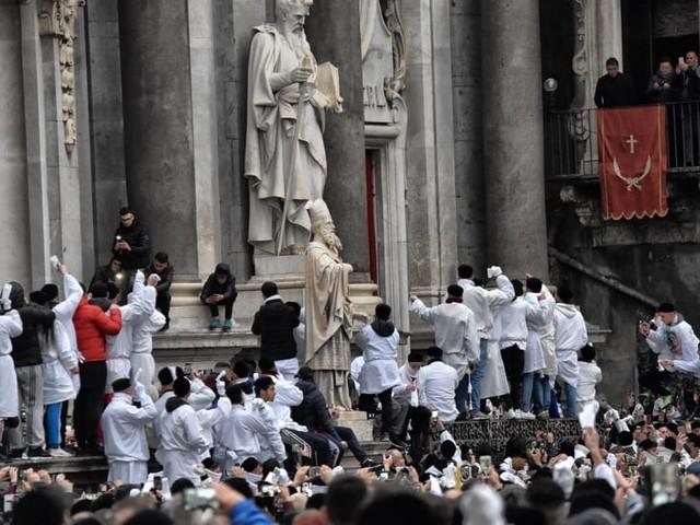 Disposta la scorta per Claudio Consoli e monsignor Barbaro Scionti