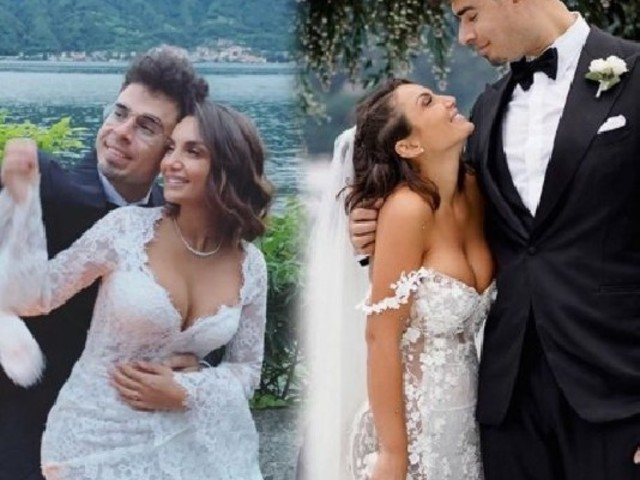 Elettra Lamborghini si è sposata, le foto delle nozze con Afrojack sul Lago di Como