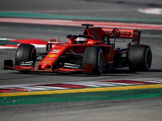 F.1, Test Barcellona - Giorno 1: la Ferrari di Vettel è la più veloce