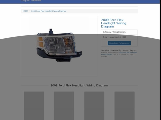 Ford Flex Headlight Wiring Diagram