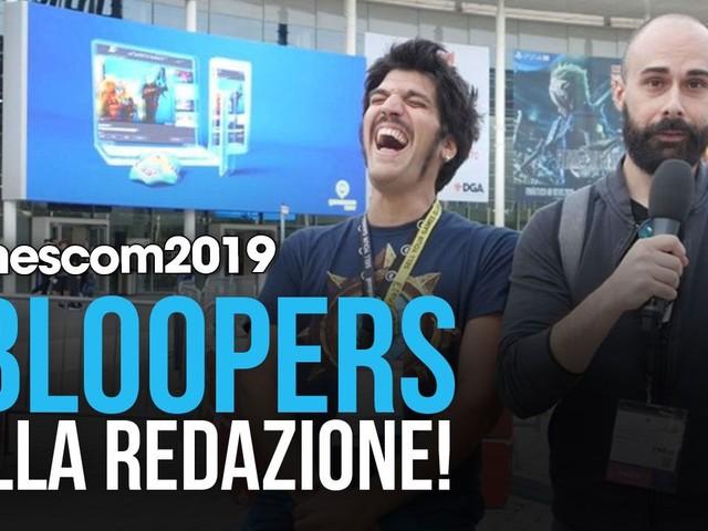 Gamescom 2019: Bloopers, papere ed errori dalla fiera di Colonia in un divertente video