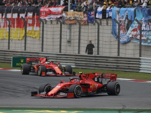 Ferrari still 'at eye level' – Hamilton
