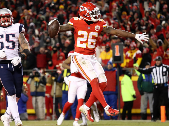 Damien Williams Out For Chiefs; Six Key Patriots Listed As Questionable For Sunday