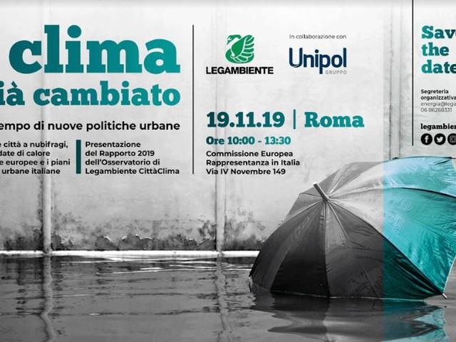 Acqua alta a Venezia, Legambiente: «Inaccettabile che ancora non sia stato approvato un Piano di adattamento nazionale ai mutamenti climatici»