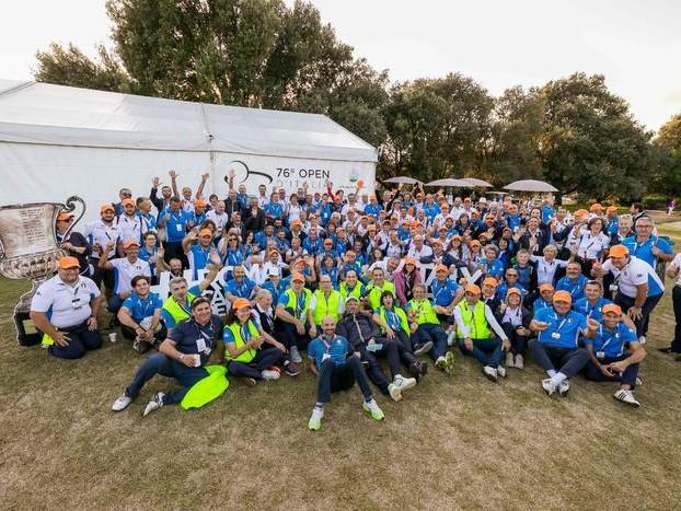 Open: la grande passione dei volontari