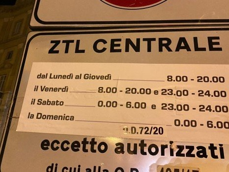 """Ztl a Palermo, sospesa fino al termine della """"zona rossa"""""""