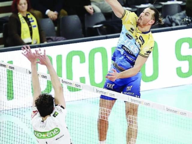 Itas Trentino: torna Djuric e la prima sconfitta in Superlega è meno amara