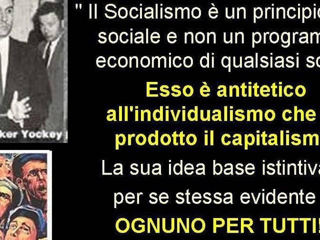 A TUTTI I FRATELLI SOCIALISTI