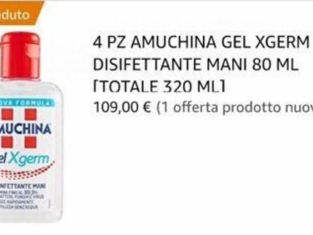 Caso Amuchina gel mani su Amazon a più di 100 euro: bloccati farmaci anti coronavirus sullo store