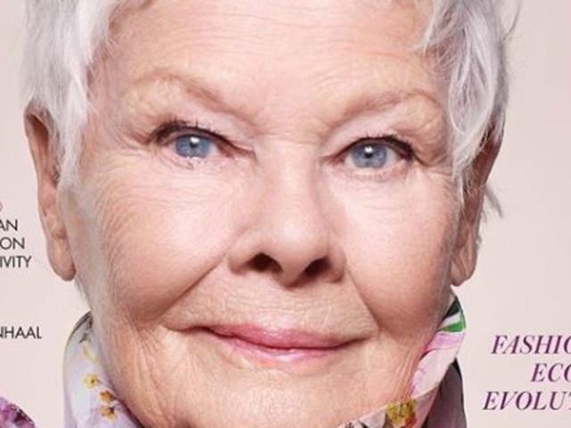 """Judi Dench posa in copertina a 85 anni e conquista il record di cover star più """"agée"""" di sempre"""