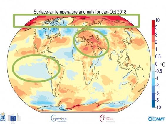 Gli ultimi 4 anni sono stati i più caldi, Wmo: «Il mondo non è sulla buona strada per rallentare il cambiamento climatico» (VIDEO)
