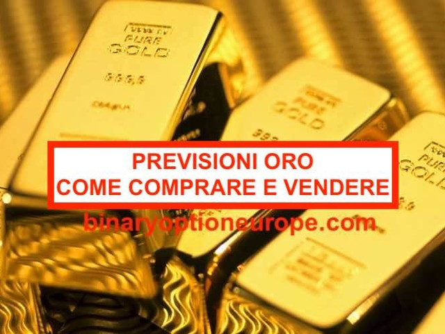 [Previsioni oro 2020] come fare trading sull'oro? Guida completa