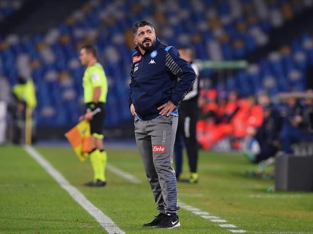 """Napoli, Gattuso: """"La squadra non sta bene mentalmente"""""""