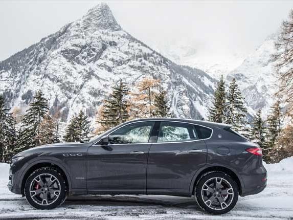 """Al via sulla neve il """"Maserati Winter Tour"""""""