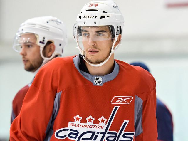 I Capitals richiamano Damien Riat in vista della stagione AHL, l'attaccante lascia Ginevra