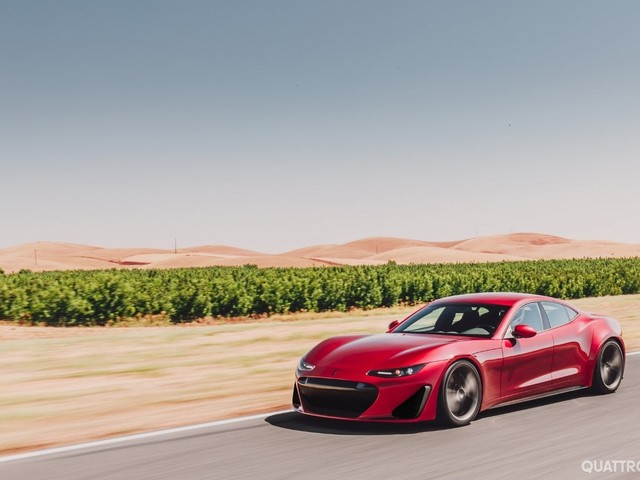 Monterey Car Week - Debutta la Drako GTE, elettrica da 1.200 CV