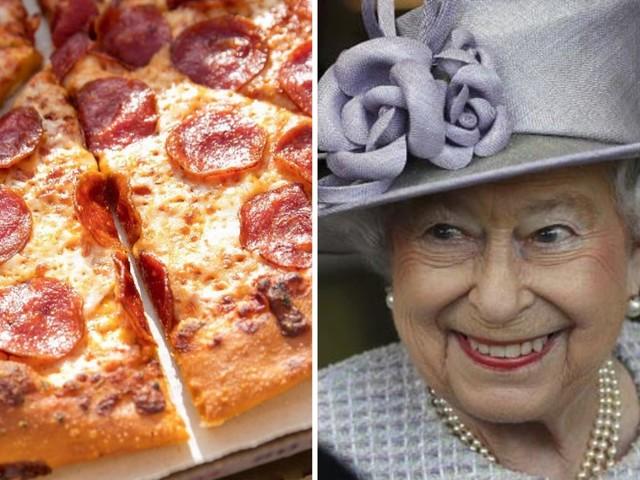 Ma alla regina Elisabetta piace la pizza?