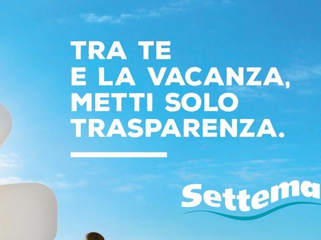 Al via la campagna pubblicitaria di Settemari: protagonista la trasparenza