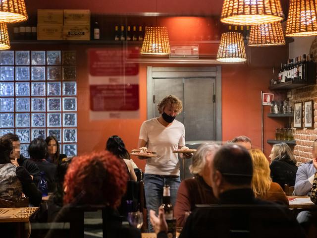 Per le nuove misure anti Covidchiudono tre ristoranti su quattro