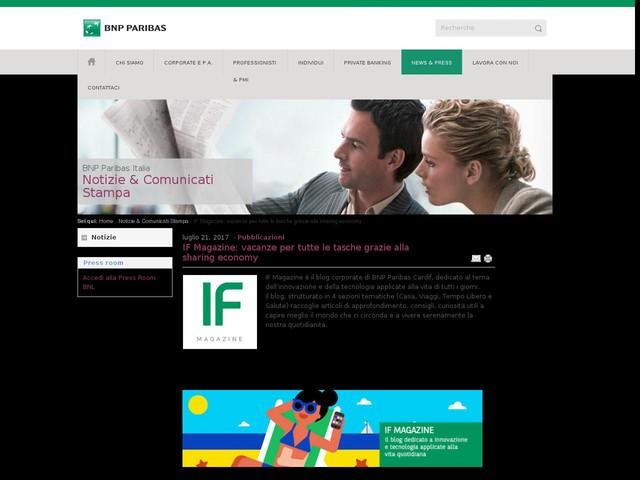 IF Magazine: vacanze per tutte le tasche grazie alla sharing economy