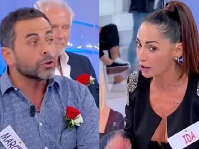 """'Uomini e Donne', Ida Platano sbotta contro Marcello: """"Sei finto"""""""