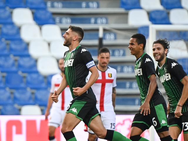 Sassuolo-Genoa 5-0: video, gol e highlights della partita di Serie A