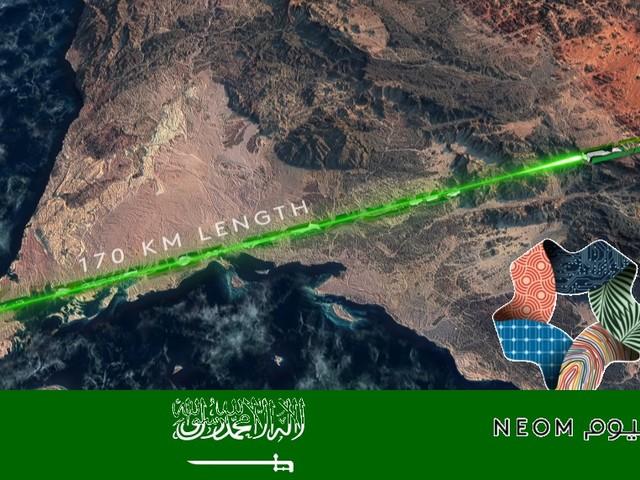 The Line: la città a zero emissioni nel deserto dell'Arabia Saudita, senza strade e auto (VIDEO)
